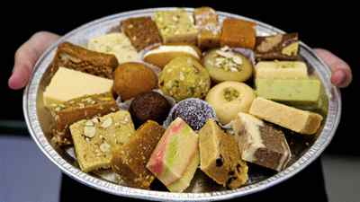 Sweets at Al-Karam Sweet Shop in Scarborough, Ont.