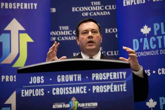 Jason Kenney, Minister of Employment and Social Development and Minister for Multiculturalism, spoke at the Economic Club of Canada in Toronto on October 08, 2013.