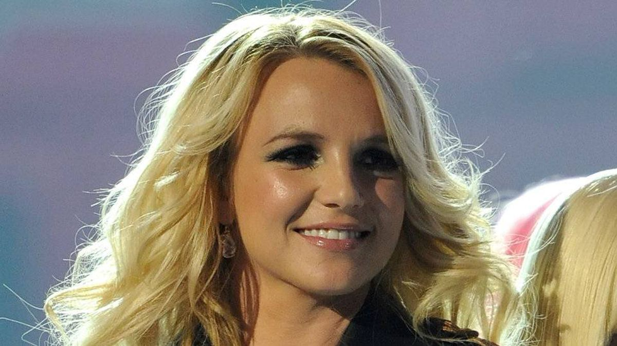 Britney Spears performs during the 2011 Billboard Music Awards.