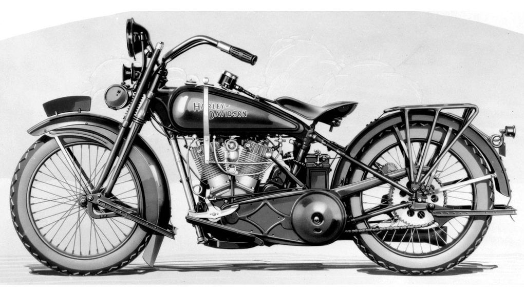A history of Harley-Davidson in pictures - The Globe and Mail