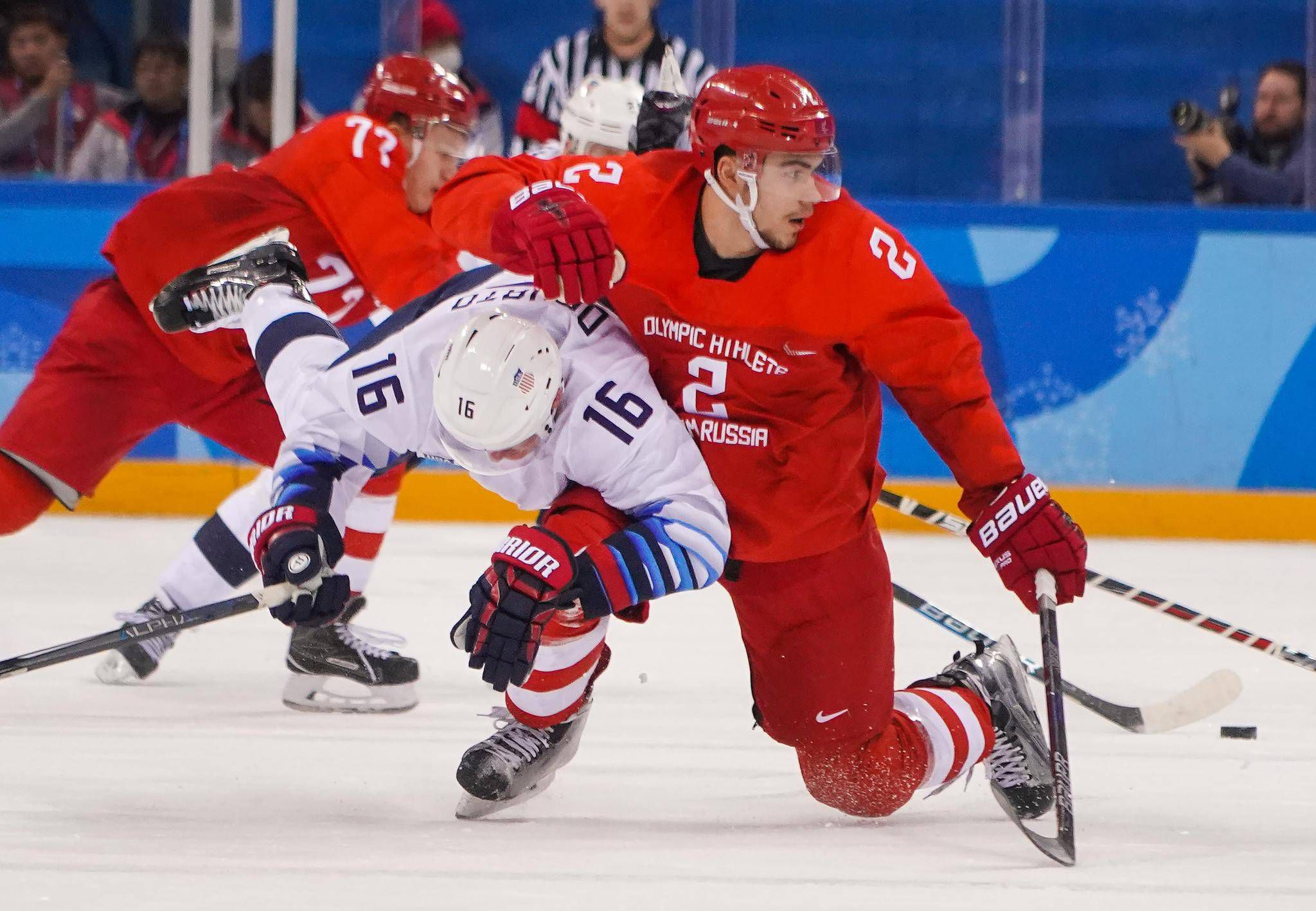Welcome to hockey in the era of Trump  Russians make a point with rough  rink win over U.S. 0f03e75b0f2