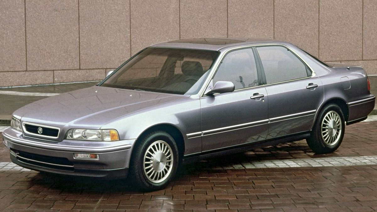 The 1991 Legend, a prototype for Acura's current line-up of performance sedans.