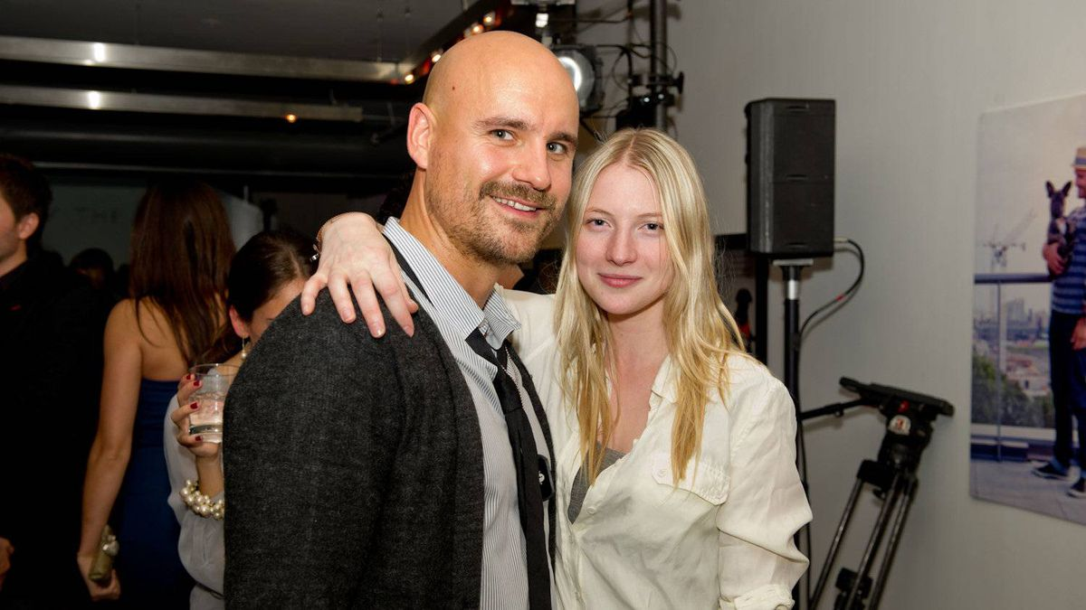 Marben's Simon Benstead and fashion designer Rita Liefhebber