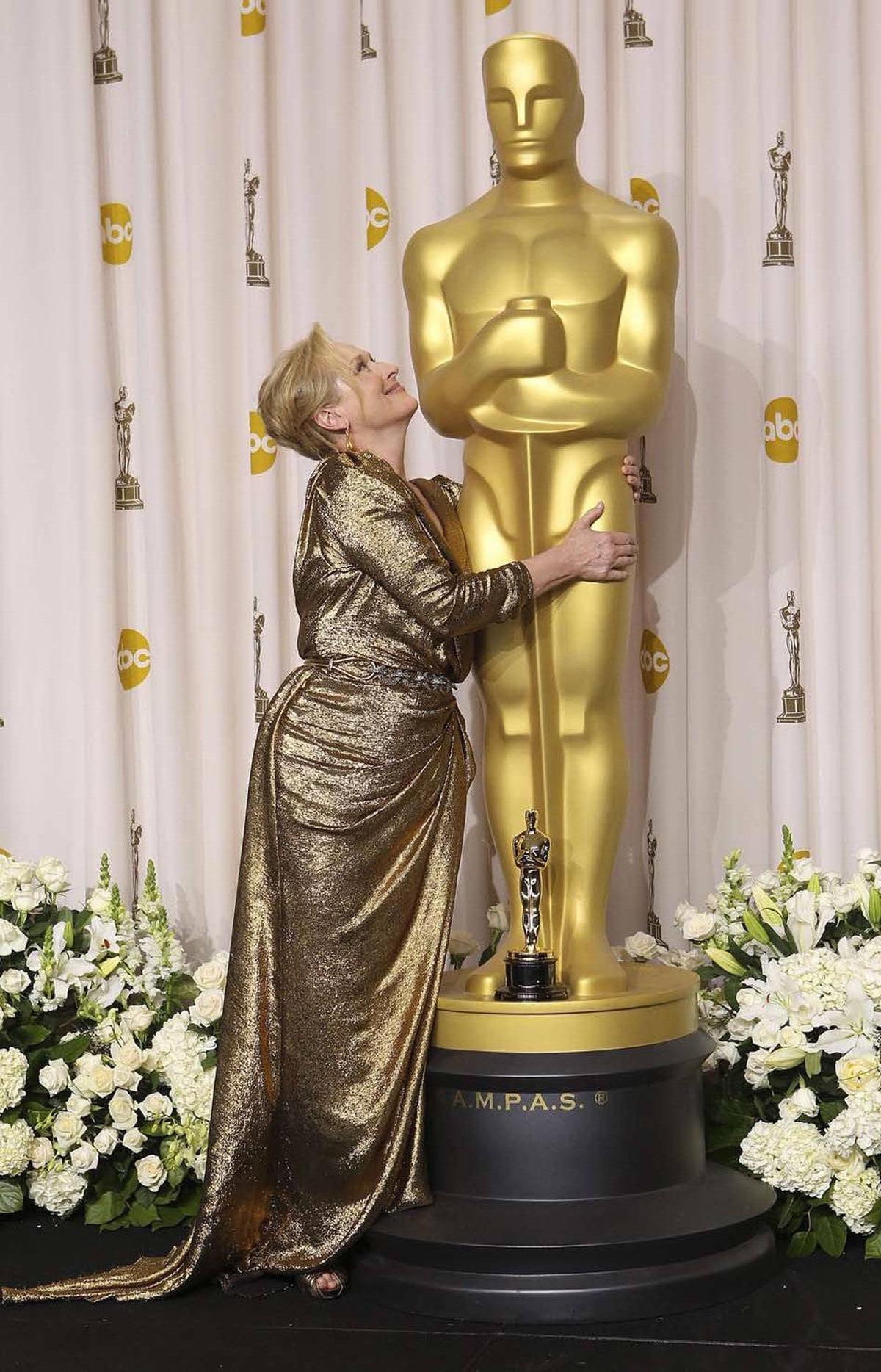 Meryl Streep was less disciplined than Uggie.