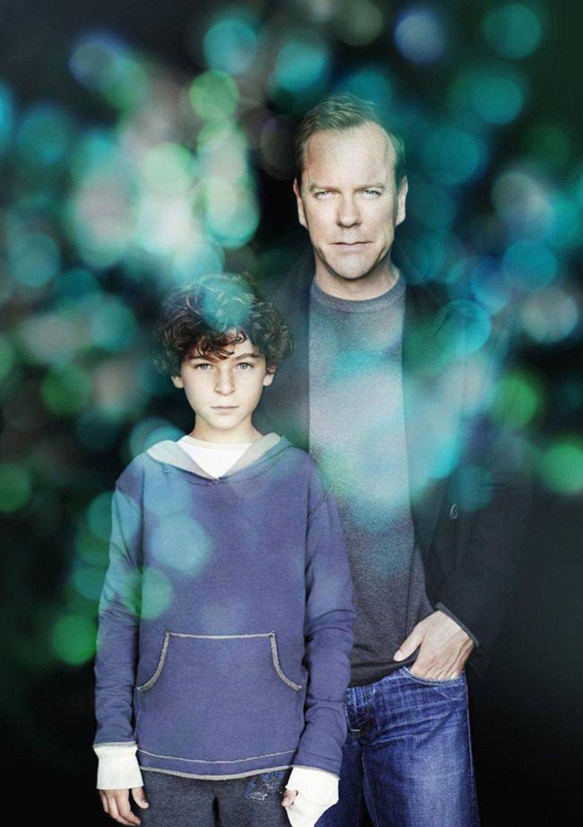 DRAMA Touch Fox, 8 p.m. Eight seasons of 24 has certainly put Kiefer Sutherland in the good graces of the Fox Network. Despite mediocre ratings and a maddeningly complex plotline, this supernatural series starring Sutherland as the widower father of an autistic, possibly omniscient, 11-year-old boy was recently renewed for a second season. The story becomes even more complicated in tonight's two-hour closer in which Sutherland's character of Martin fends off the advances of the ominous Aster Corporation (formerly the Hanso Foundation?) that wants to study his son, Jake (David Mazouz). The closer also introduces Maria Bello – seen most recently on the ill-fated American remake of Prime Suspect – as a mother whose daughter shares the same abilities as Martin's son.