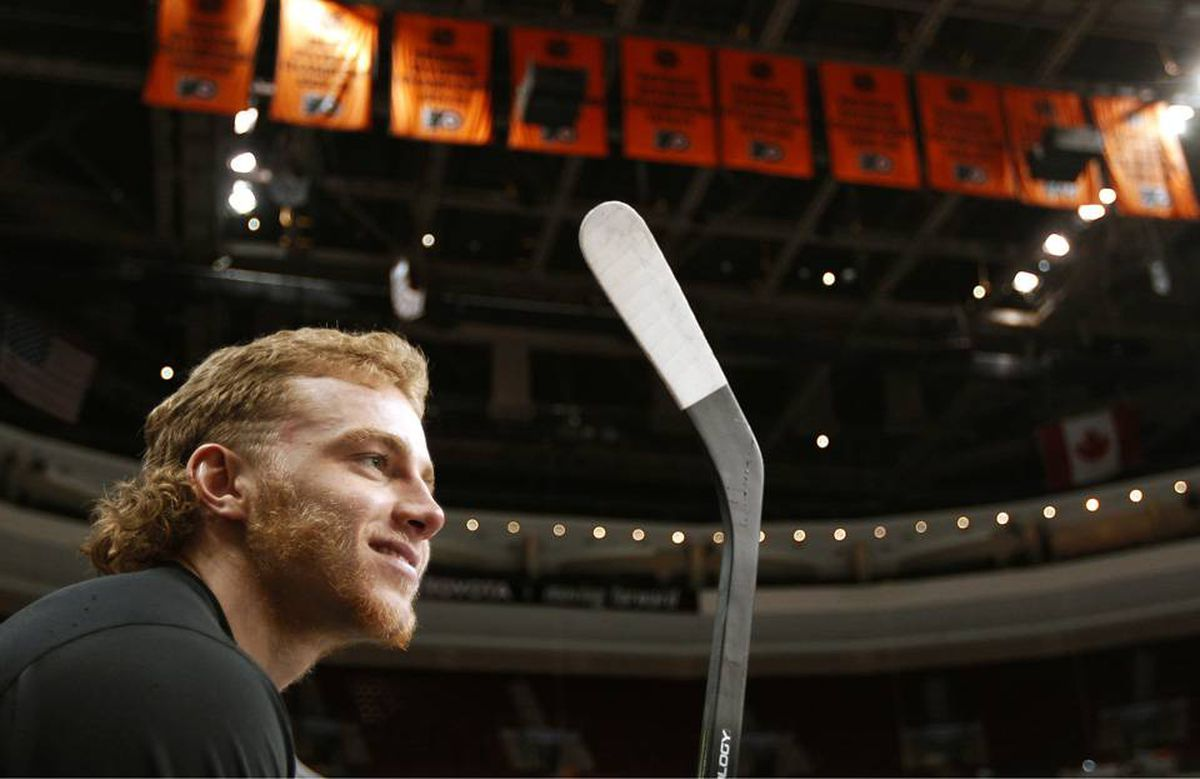Chicago Blackhawks forward Patrick Kane sits on the bench before Game 4 of the NHL Stanley Cup final.