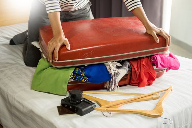 Five tips for efficiently packing your suitcase