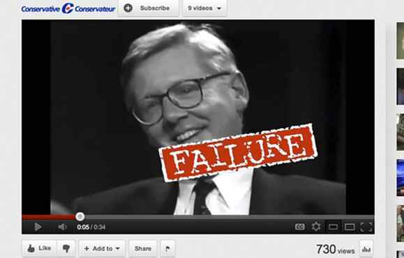 Conservatives released an attack ad on March 19, 2012, criticizing Interim Liberal Leader Bob Rae's tenure as NDP premier of Ontario.