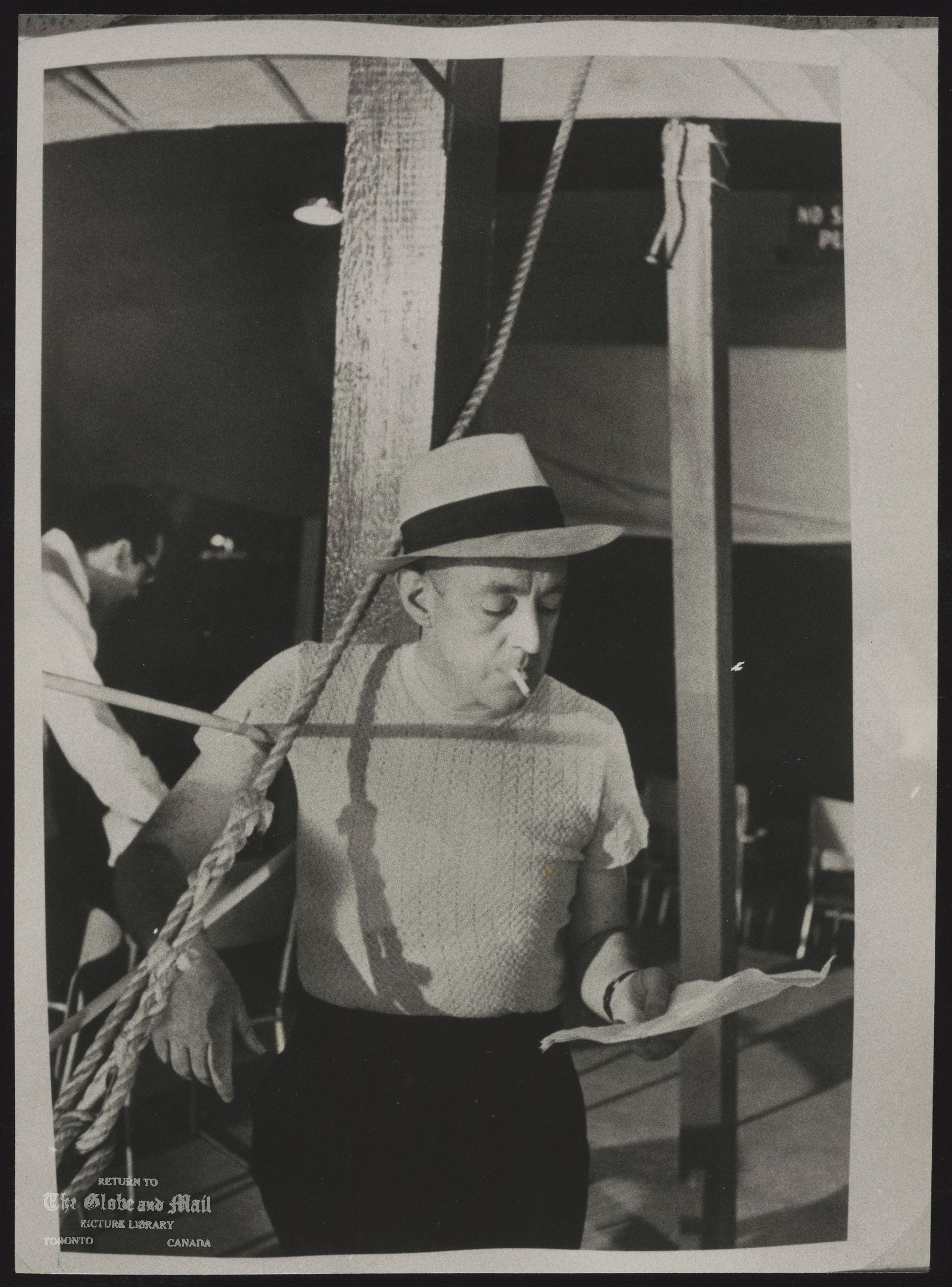 Alec GUINNESS Actor at 1953 Stratford Festival