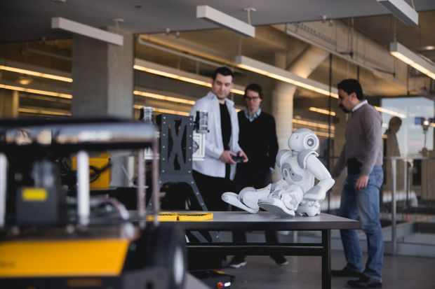 Waterloo creates a 'terrarium for robots' - The Globe and Mail