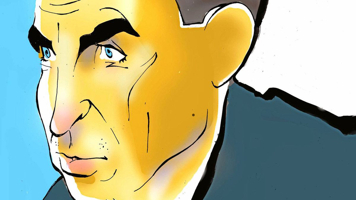 Illustration of Mark Carney, Bank of Canada Governor and chairman of Financial Stability Board.