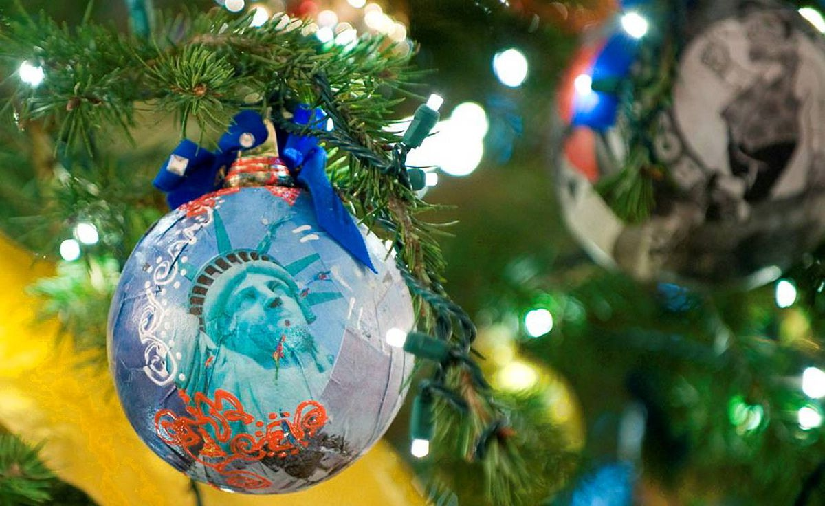 Holiday decor, Obama style - The Globe and Mail