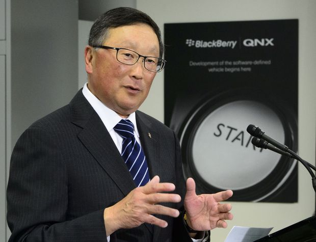 BlackBerry reports Q3 loss; software, services revenue climbs