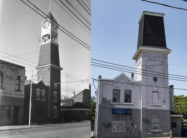 Ossington community organizations search for old fire hall clock tower's clock