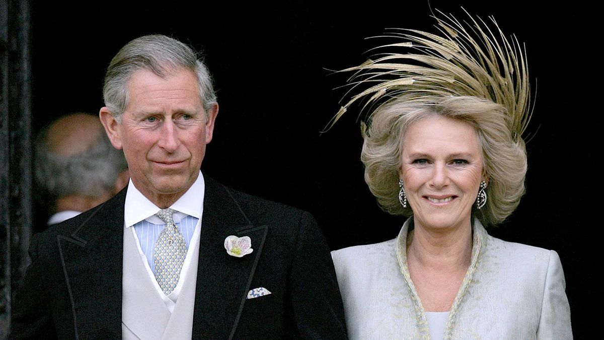 April 9, 2005: Prince Charles marries Camilla Parker Bowles in a civil ceremony attended by their children, siblings and other family members.