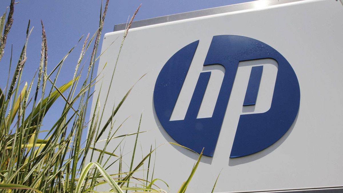 Hewlett-Packard's headquarters in Palo Alto, Calif. HP says the layoff of 27,000 workers, or 8 per cent of its work force, will be made mainly through early retirement.