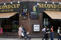 Second Cup store