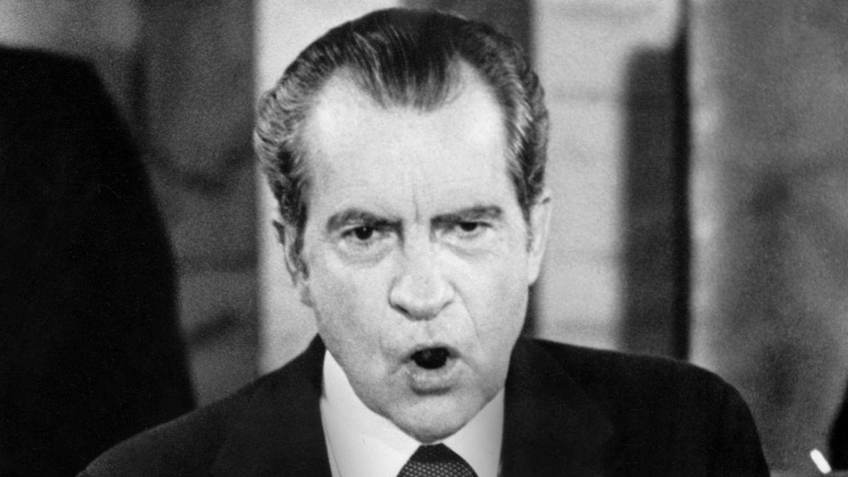 Richard Nixon, 1973.