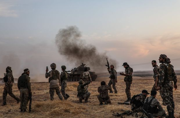 Trump sanctions fail to slow Turkey's assault as Moscow's allies advance in Syria