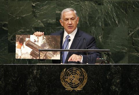 Netanyahu warns that IS, Hamas two sides of same coin