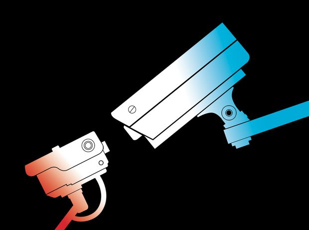 In our surveillance society, somebody is always watching