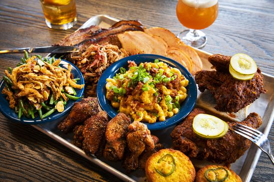 The Tennessee-inspired Comery Block offers fun times, but very mediocre food