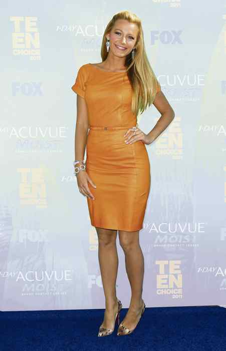Blake Lively: Sultry citrus
