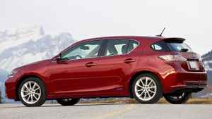 2011 Lexus CT 200h hybrid: This Lexus is the most fuel efficient car sold by any premium brand in Canada.