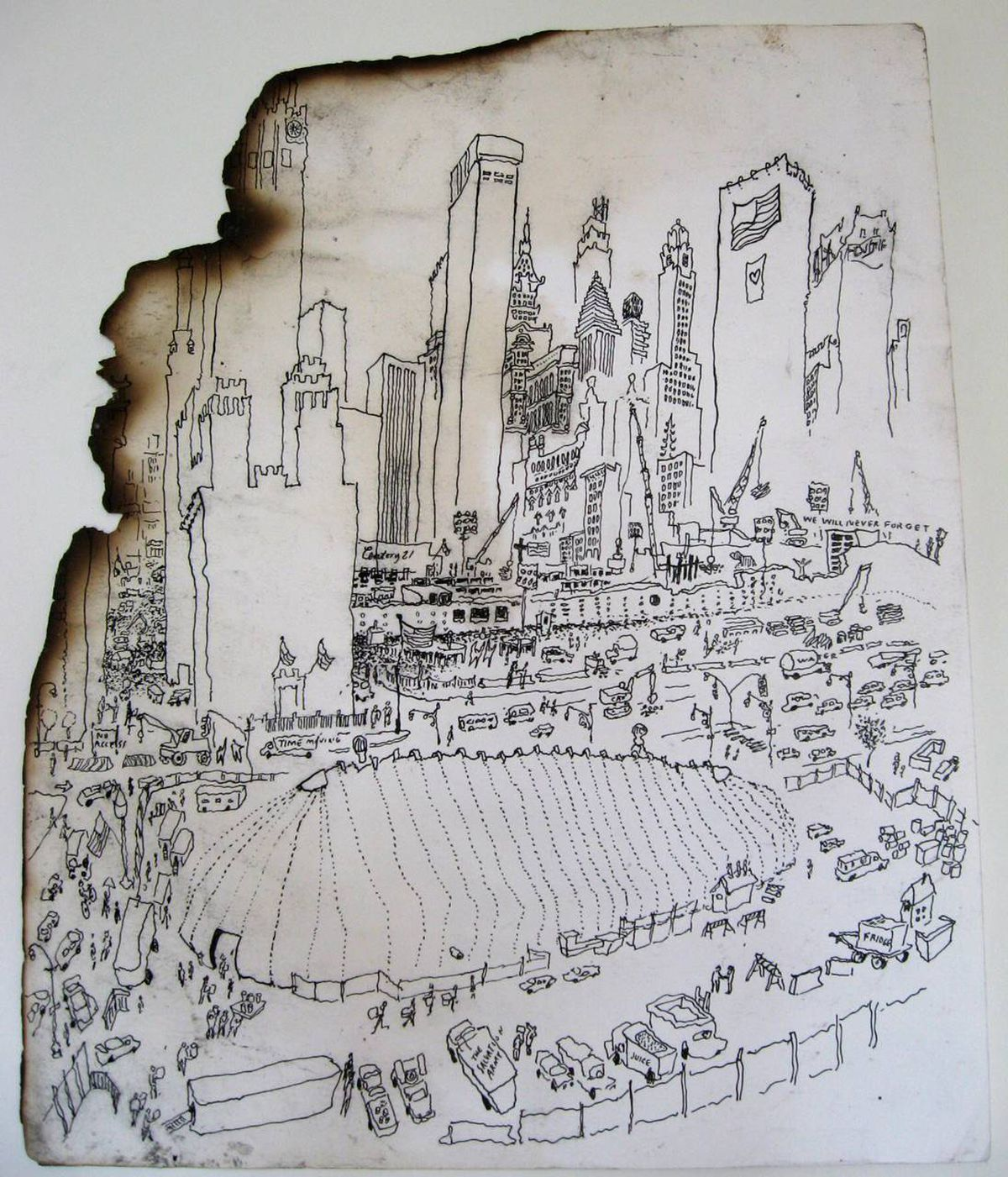 Toronto Artist's 9/11 Drawings 'a Testament To Survival