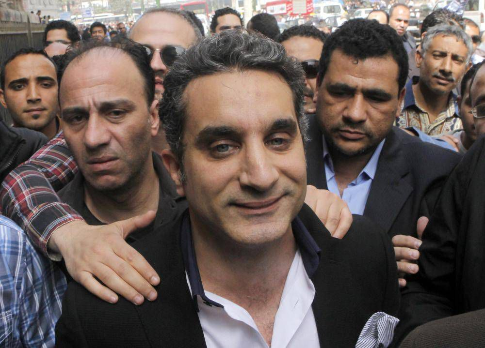 Bassem Youssef has the wildest story of TV satire ever