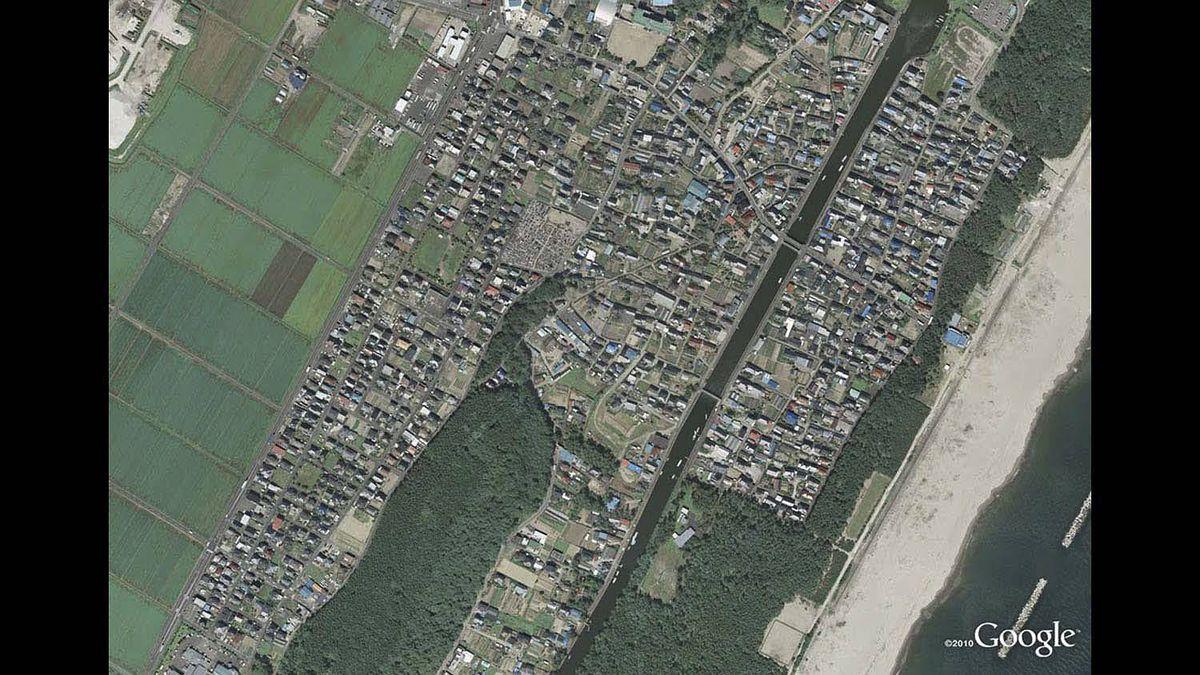 Arahama in Sendai in 2008.