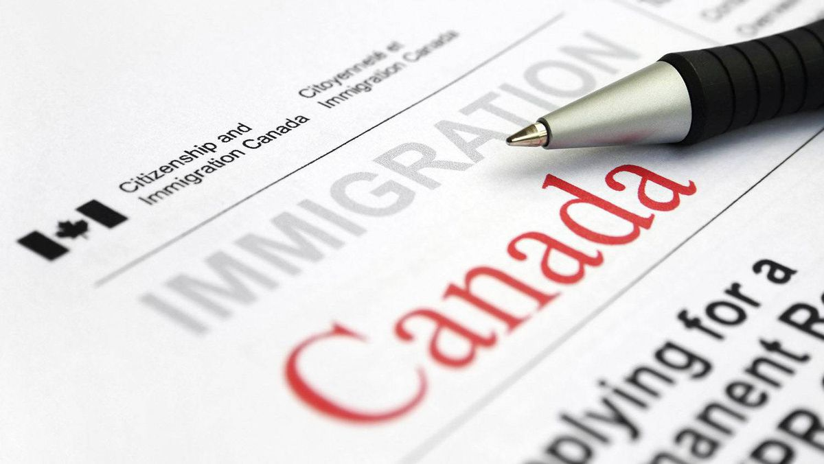Appication form from Citizenship and Immigration Canada.