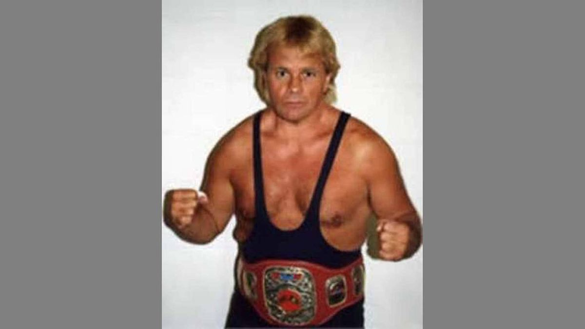 Bruce Hart in a publicity shot from his wrestling days