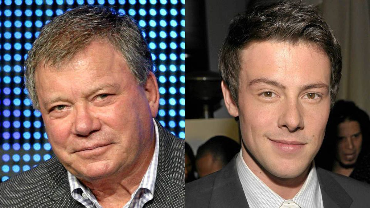 William Shatner at the summer TV writers tour, July 28, 2010, Beverly Hills, Calif.; Cory Monteith in West Hollywood, Jan. 5, 2011.