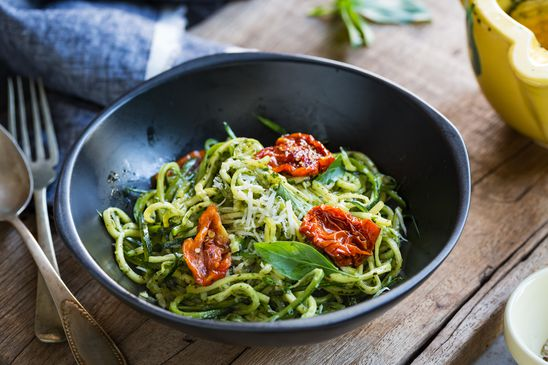 I love pasta, but don't want the calories and carbs. What can I use?