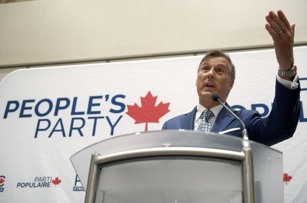 Third party buys billboard to promote Bernier's immigration stance