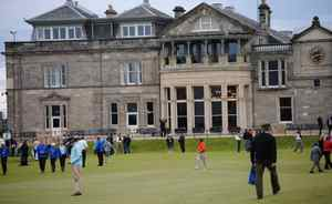 The Old Course following the end of the British Open
