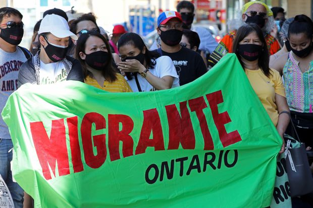 theglobeandmail.com - Teresa Wright - Migrant workers in Canada stage multi-city action for full status amid COVID-19 risks