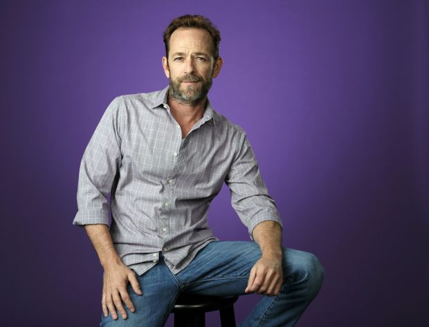 Appreciation: 90210 star Luke Perry was the choice