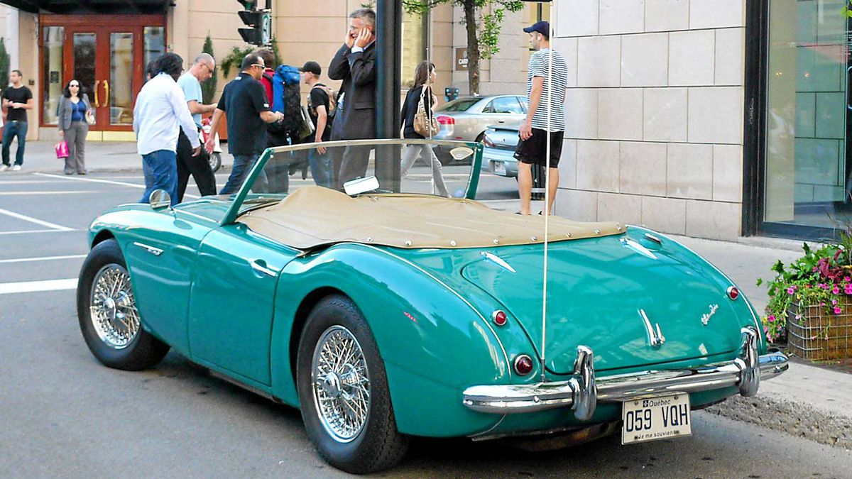 Austin Healey. A beautiful English sports car that defines the 1950s-1960s era for countless enthusiasts. Also a rust-prone money pit wih bad electrics and suspension. But beautiful.