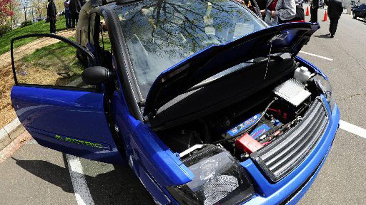 The Zenn electric car