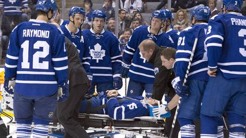 Leafs' Ranger 'stable, conscious and alert' following hit from Killorn