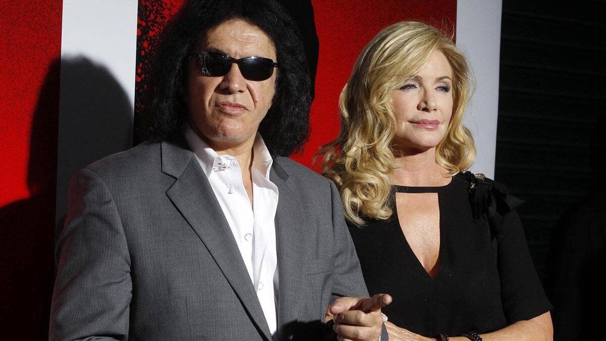 Gene Simmons and Shannon Tweed.