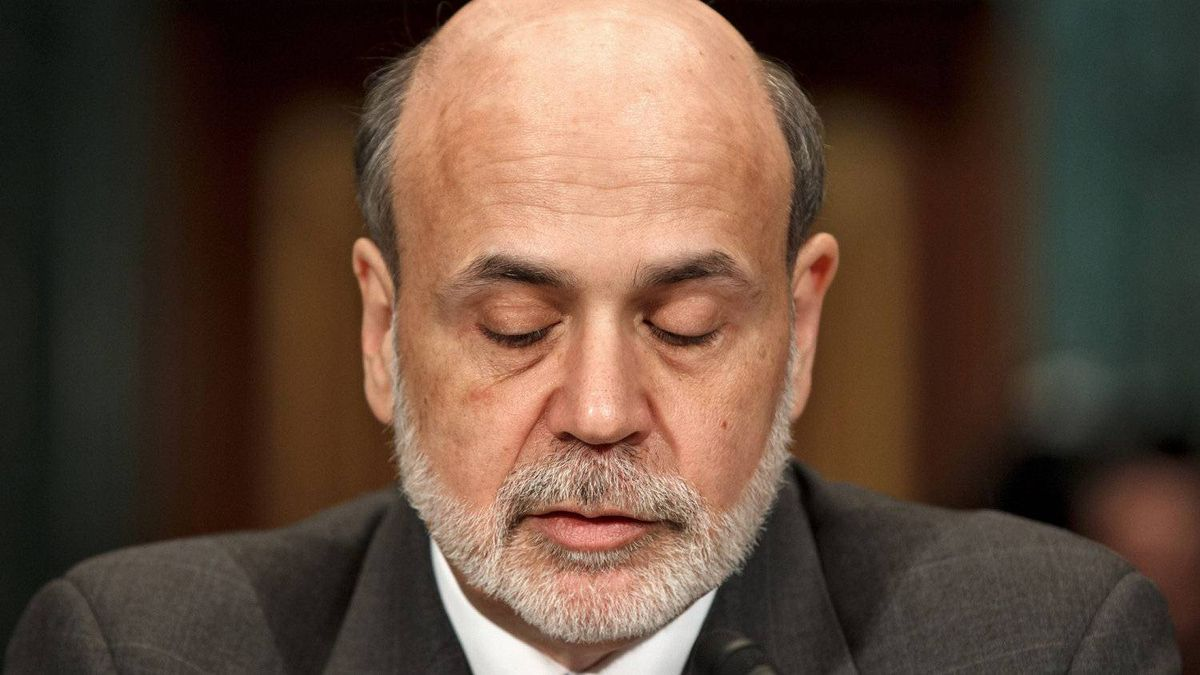 U.S. Federal Reserve Board chairman Ben Bernanke pauses while testifying on March 1 on Capitol Hill in Washington. Mr. Bernanke's recent assessments of the strength of the recovery in the U.S. put him squarely at the glum end of the spectrum.