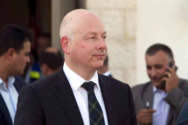 Jason Greenblatt, diplomat pushing Middle East peace plan, to leave Trump administration