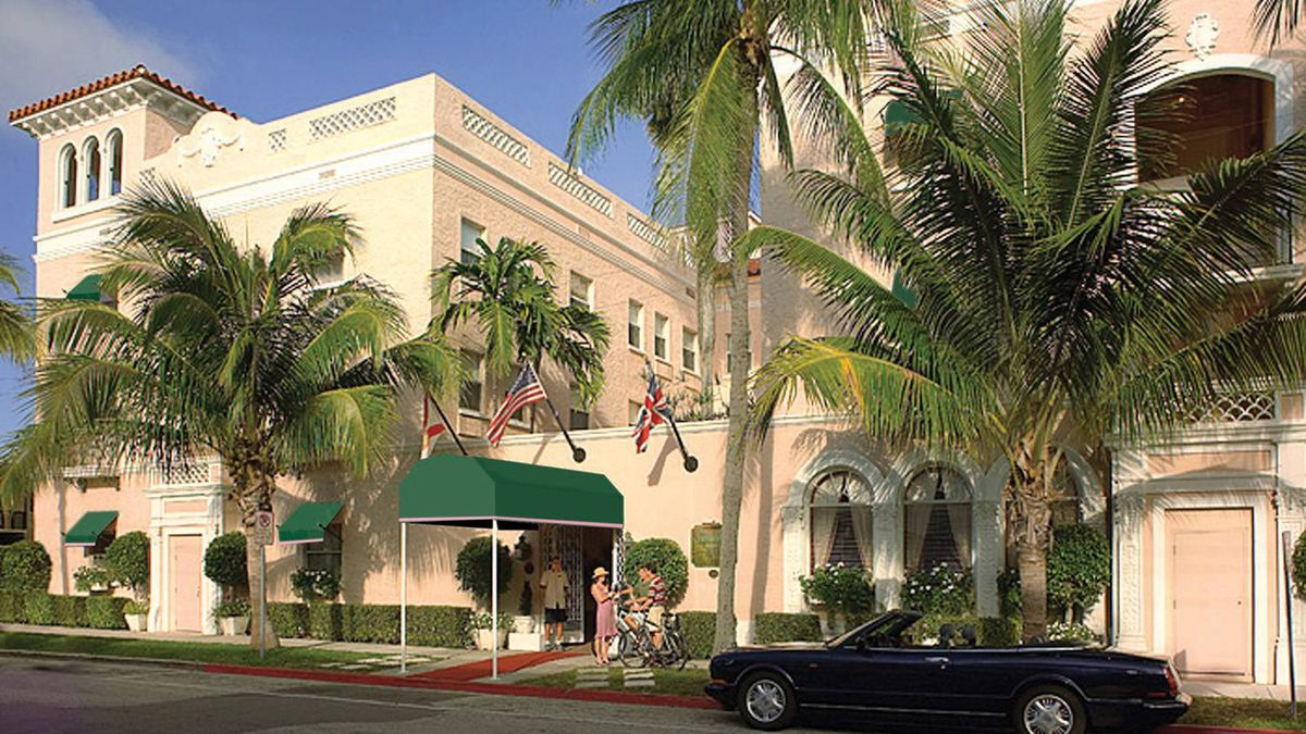 Chesterfield Palm Beach Hotel in Florida