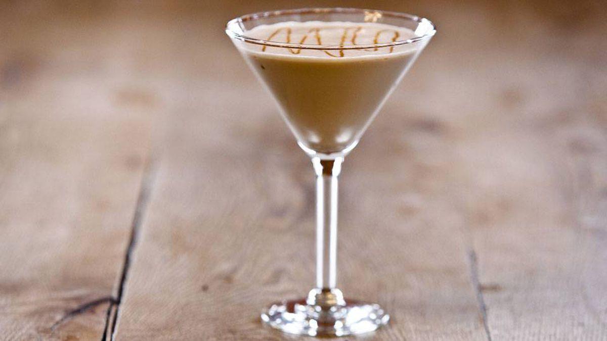 The crème brûlée stout martini.