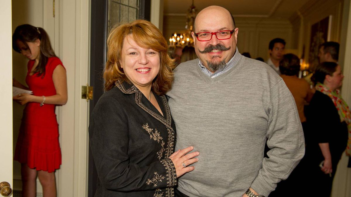 Chef Massimo Capra with his wife Rosa