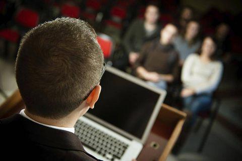 Seven tips for more confident presentations