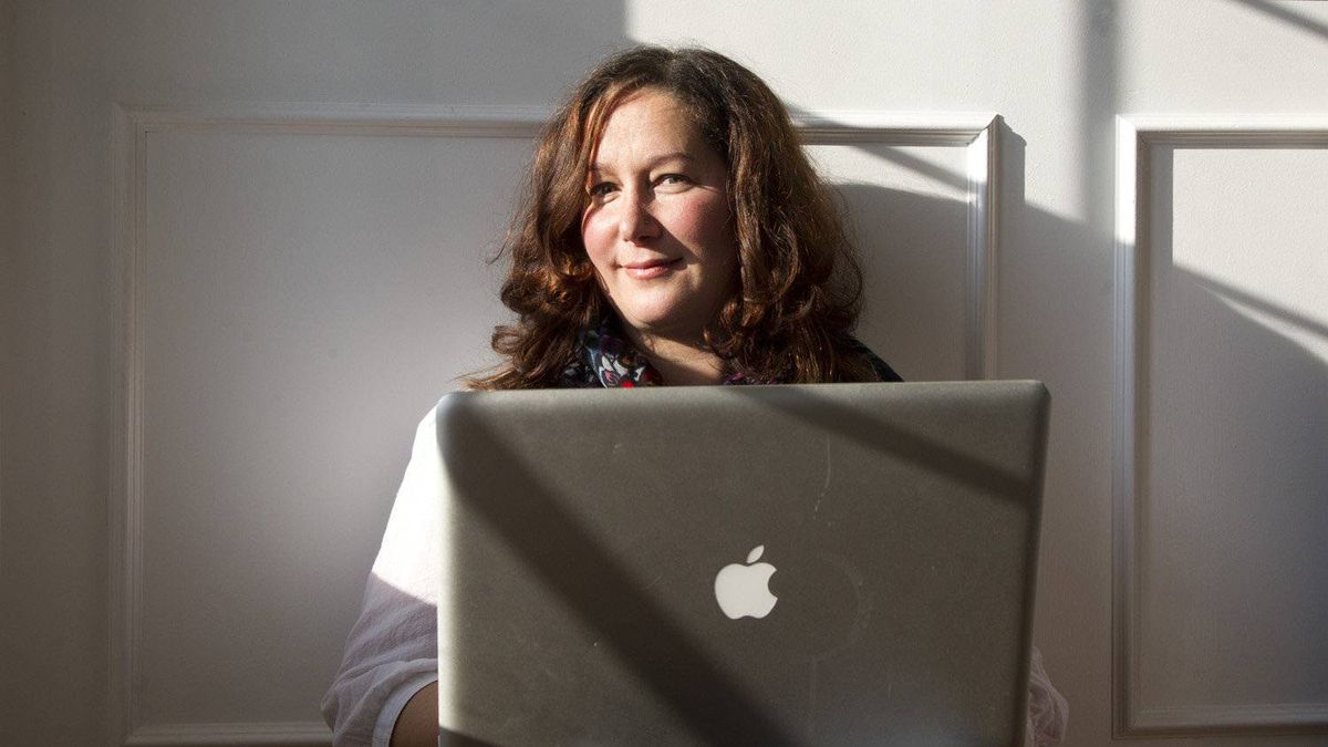 Marci O'Connor poses in her home in Mont Saint-Hilaire, Que., Nov. 19, 2011.